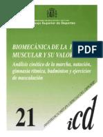 Biomecania de la fuerza y musculación (CSD)