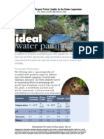 Maintaining Proper Water Quality in the Home Aquarium