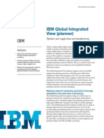 IBM Global Integrated View (Planner)