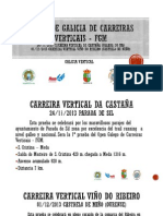 Open Gallego Carreiras Verticales