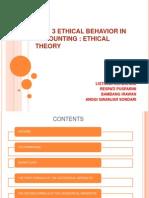 Etichal Behavior