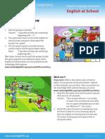 English at School - Worksheets