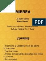 MIEREA PREZENTARE