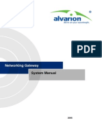Networking Gateway Ver.2.0 System Manual 051108