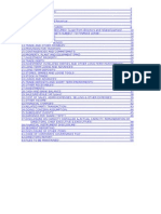 Checklist for Various Heads of Audit Working Paper File