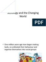 sociology and the changing world 1
