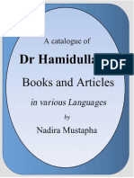 A catalogue of Books and Articles of Dr Muhammad Hamidullah.