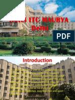 ITC Maurya Hotel Delhi