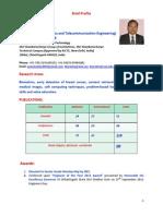 Profile Dr G R Sinha