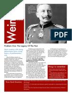 Weimar Handout 1