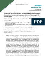Assessment of Genetic Fidelity