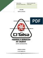 Informe Visita CITalsa CRISTIAN