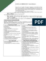 Tasksheet Course Two Business Discourse