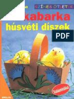 Színes ötletek 20 - Tarkabarka húsvéti díszek