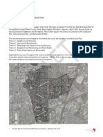 Draft Recommendations for Small Area Plan & Livability Study, by DC Mid City East.