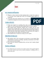 advertisement effectiveness study of analgesic