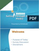 Selling Through Social Media