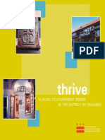 Thrive - A Guide to Storefront Design in the District of Columbia