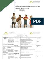 Planificação Pré-escolar