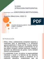 GUÍA METODOLOGÍA PARA LA CONSTRUCCION DEL CODIGO DE CONVIVENCIA