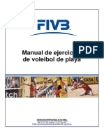 Manual Ejercicios Voleibol Playa