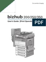 Konica Minolta Bizhub-350-250 Um Print 2-0-0