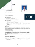 Chandan Koner Resume