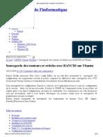 Sauvegarde Des Routeurs Et Switchs Avec RANCID Sur Ubuntu