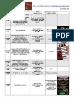 calendario metalcanario OCTUBRE - 2009