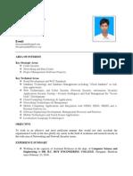 Biswajit Mondal Cv