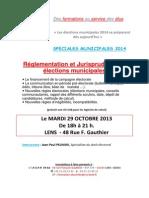 Formations Du 29 Octobre Municipales 2014