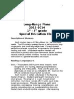 long range plans - 2013-shealy