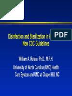 Disinf. Sterilization
