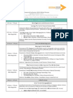 FI2020 Global Forum - Agenda as of Oct 17