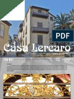 Folleto Casa Lercaro - La Orotava