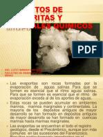 4. Depositos de Evaporitas y Minerales Quimicos