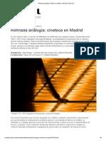 Detail. REFINADA ANALOGÍA-CINETECA DE MADRID