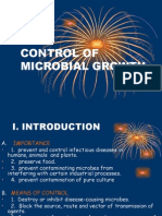 4. Control of Microbial Growth