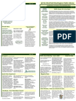WWPL August 2009 Newsletter