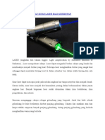 Sejarah Sinar Laser