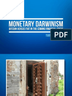 Monetary Darwinism - Tuur Demeester - European Bitcoin Convention