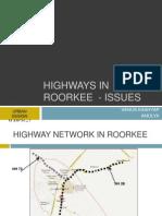Urban Design Issues - Highways