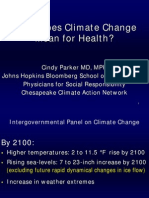 Parker_Climate and Health_InterAction Seminar