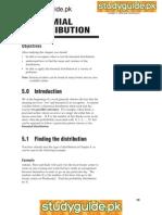 Binominal Distribution