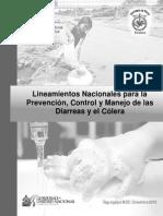 LINEAMIENTOS PREVENCIÓN Y CONTROL DE LAS DIARRES Y COLERA