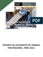 Vigilancia de Accidentes de Trabajo Peru 2011