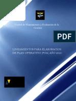 Lineamientos POA 2013 Convertido-1