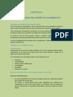 Capitulo 2 - Generalidades del diseño de pavimentos