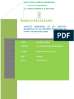 Aspectos Ambientales de Los Impactos Ambientales de Los Procesos Extractivos de Cobre