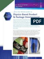 SES - Physics Based Product Development